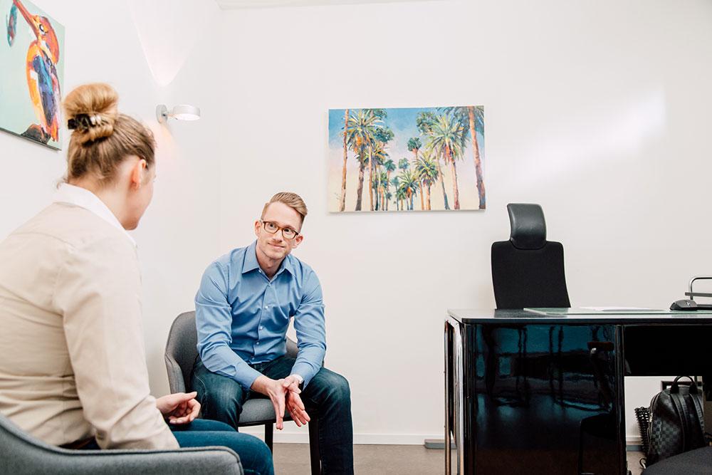 Psychotherapie Schlebusch - Krämer - Leistungen - Psychotherapeutische Behandlungen